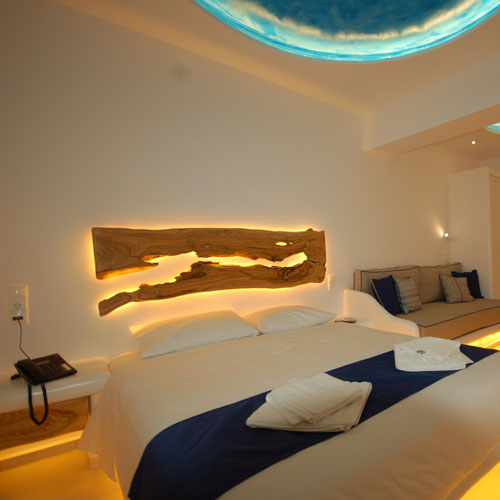 Mykonos Accommodation with spectacular sea view